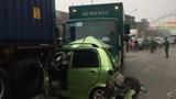 """Tai nạn giao thông mới nhất hôm nay ngày 13/12: Tai nạn """"dồn toa"""" khi dừng chờ đèn đỏ"""