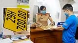 Xe kinh doanh đổi sang biển số màu vàng: Nhiều xe hợp đồng trốn tránh