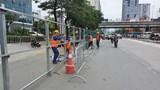 Đoạn tuyến Hoàng Minh Giám - Vũ Hữu: Tổ chức lại giao thông phục vụ thi công hầm chui
