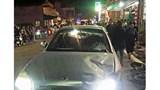Ô tô mất lái gây tai nạn, 5 người bị thương