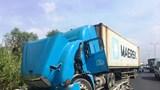 Tai nạn giao thông mới nhất hôm nay 27/12: Ô tô biển xanh đâm xe container khiến 2 người chết