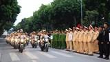 Hà Nội tổ chức lễ phát động ra quân năm An toàn giao thông vào ngày 5/1/2021