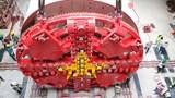 Lắp ráp xong máy TBM, sẵn sàng đào hầm đường sắt Nhổn - ga Hà Nội