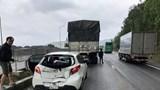 Xe tải mất phanh gây tai nạn liên hoàn trên đường dẫn hầm Hải Vân