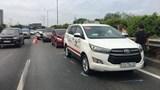 Tai nạn liên hoàn trên cao tốc TP Hồ Chí Minh - Long Thành - Dầu Giây