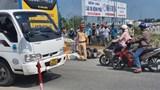 Tai nạn giao thông mới nhất hôm nay 4/1: Va chạm với xe ben chở vật liệu, 1 người chết tại chỗ