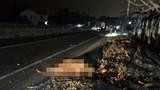 Truy tìm tài xế xe tải gây tai nạn chết người rồi bỏ trốn