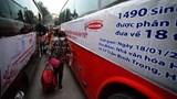 Tổ chức bán vé tàu, xe tại trường cho học sinh, sinh viên về nghỉ Tết
