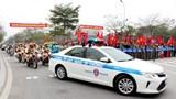 Quận Hoàng Mai ra quân đợt cao điểm đảm bảo trật tự, an toàn giao thông dịp Tết Nguyên đán