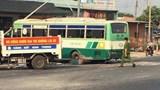 Xe buýt va chạm xe máy, một người tử vong tại chỗ