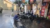 """Hà Nội: Dịch vụ rửa xe quá tải, """"hét"""" giá ngày cuối cùng năm Canh Tý"""