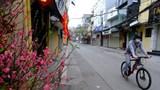 Đường phố Hà Nội thanh bình, sâu lắng trong sớm mùng 1 Tết Tân Sửu