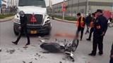 Xe máy va chạm với xe container, bé trai 13 tuổi tử vong tại chỗ