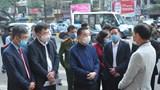 Chủ tịch UBND TP Hà Nội kiểm tra công tác phòng chống Covid-19 tại bến xe, khu đô thị