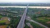 Đề xuất phân lại làn, giảm tốc độ lưu thông trên cầu Thanh Trì
