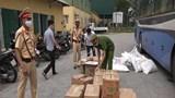Thừa Thiên Huế: Bắt quả tang xe khách vận chuyển hơn 6.500 bao thuốc lá lậu