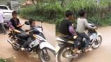 Xem xét xử lý trách nhiệm người giao xe máy cho trẻ em điều khiển khi chưa đủ tuổi