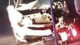 Xe ô tô lấn làn gây tai nạn khiến 2 người thương vong
