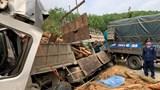 Hiện trường thảm khốc vụ xe tải chở keo gặp nạn làm 7 người chết ở Thanh Hóa