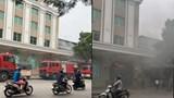 Hà Nội: Cháy ô tô Range Rover dưới tầng hầm Trung tâm thương mại Tràng Tiền Plaza