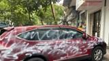 Xác định được đối tượng phun sơn trắng vào xe ô tô Honda CR-V ở Hải Phòng