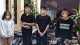 Hải Phòng: Tạm giữ nữ sinh cùng 3 thanh niên lạng lách đánh võng trên đường