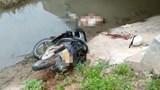 Phát hiện thi thể nam thanh niên dưới mương nước cạnh xe máy