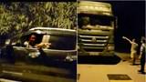 Hà Nội: Thanh tra giao thông bị dọa đánh khi xử lý xe quá tải