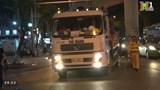 Tình trạng xe tải trọng lớn đi sai giờ tiềm ẩn nguy cơ tai nạn giao thông