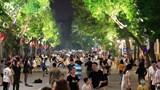 Quận Hoàn Kiếm ra thông báo tạm dừng tổ chức hoạt động không gian đi bộ
