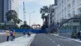 TP Hồ Chí Minh: Tháo dỡ rào chắn đường Lê Lợi, phương tiện được lưu thông hai chiều từ ngày 30/4