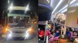 Tài xế không bằng, nhồi nhét tới 95 người trên chuyến xe về Nghệ An