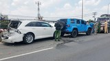 Tai nạn giao thông mới nhất hôm nay 1/5: Tài xế phanh khiến 4 ô tô tông liên hoàn
