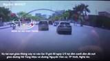 [Clip] Khoảnh khắc xe Mazda vào cua ẩu tông ô tô Huyndai