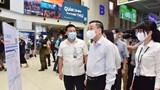 Chủ tịch UBND TP Hà Nội kiểm tra công tác phòng chống Covid-19 ở sân bay Nội Bài, bến xe Mỹ Đình