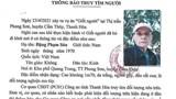 Thông tin mới nhất về vụ cướp taxi ở Khu đô thị Thanh Hà, huyện Thanh Oai