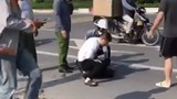 Nam thanh niên chia sẻ về việc giúp tài xế taxi bắt cướp ở Khu đô thị Thanh Hà