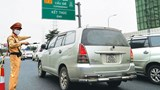 Cảnh sát giao thông huy động lực lượng bảo đảm trật tự, an toàn giao thông phục vụ bầu cử