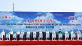 Khởi công dự án thành phần đầu tư đường cao tốc đoạn Diễn Châu - Bãi Vọt