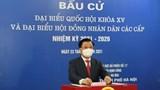 Hơn 5,4 triệu cử tri Thủ đô Hà Nội náo nức đi bầu cử đại biểu Quốc hội và HĐND các cấp nhiệm kỳ 2021 - 2026