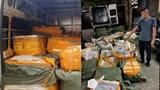 Phát hiện ô tô chở hơn 1 tấn nầm lợn không nguồn gốc từ Quảng Ninh về Hà Nội tiêu thụ