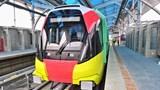 Đường sắt Nhổn - Ga Hà Nội hoàn thành quá trình đóng điện trên toàn đoạn trên cao