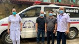 Xúc động 2 tài xế xứ Nghệ lái xe cứu thương về hỗ trợ chống dịch ở Bắc Giang