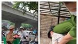 Hà Nội: Khởi tố đối tượng đi xe SH vượt đèn đỏ còn tấn công Cảnh sát giao thông