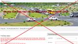 Cảnh báo: Website tracuugplxgov.vn giả mạo trang thông tin điện tử Giấy phép lái xe