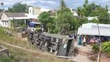 Quảng Nam: Xe quân sự lao xuống vực, 2 người thương vong