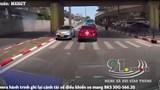 [Clip] Bất chấp nguy hiểm, tài xế Vios liều lĩnh đi ngược chiều trên phố