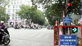 """Hà Nội bỏ 49 biển """"đèn đỏ được phép rẽ phải"""""""