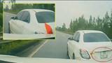 Pha tạt đầu khó hiểu của xe Mercedes trên cao tốc Hà Nội - Lào Cai