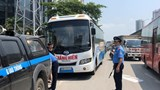"""Hà Nội: Gần 160 xe khách bị xử phạt tại điểm """"nóng"""" bến xe Mỹ Đình"""
